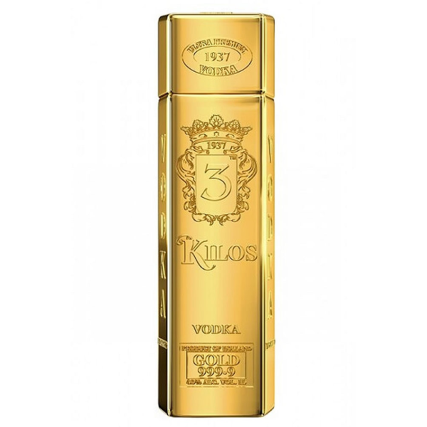 3 Kilos Gold 999.9 Vodka