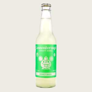 Cannonborough Honey Basil Craft Soda 12oz bottle