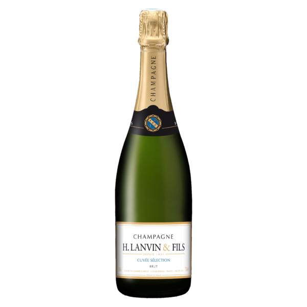H Lanvin & Fils Brut Champagne 750ml Glass Bottle Nashville Chattanooga Tennessee