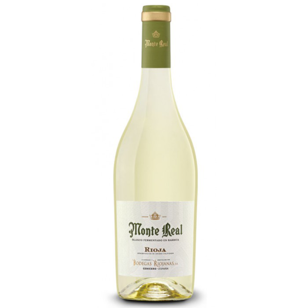 Monte real Blanco 750ml Bottle Whhite Spanish Wine Nashville Tennesee
