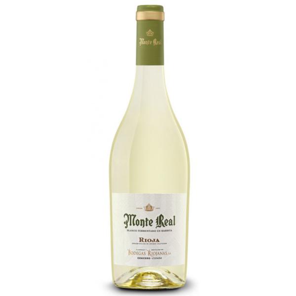 Monte real Blanco 750ml Bottle Whhite Spanish Wine Nashville Tennesee