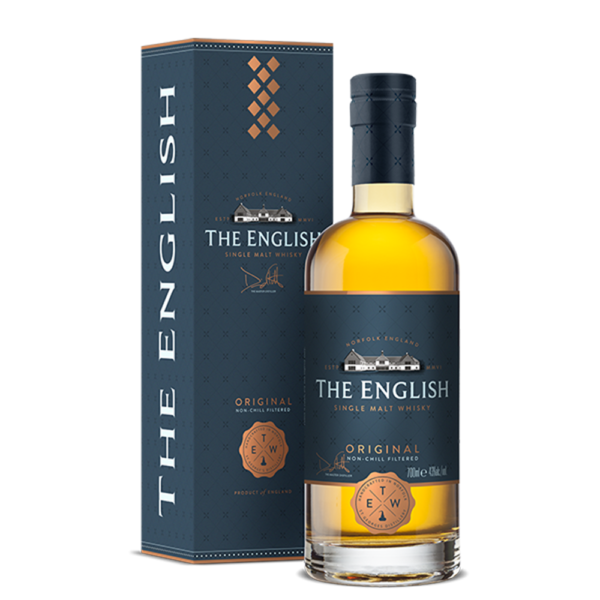 The English Original Single Malt 750ml Bottle Nashville Tennessee