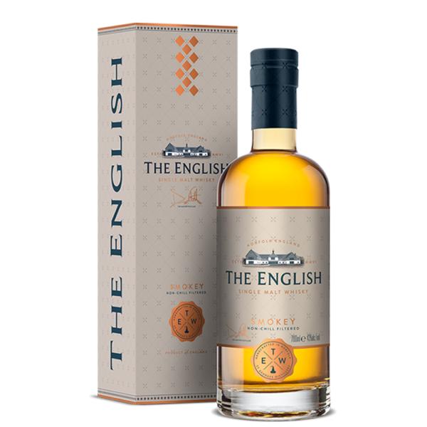 The English Smokey Single Malt 750ml Bottle Nashville Tennesee