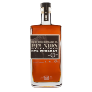 Union Horse Distilling Reserve Straight Rye Whiskey 750ml Bottle