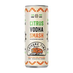 Leisure Time Citrus Vodka Smash 350ml Can