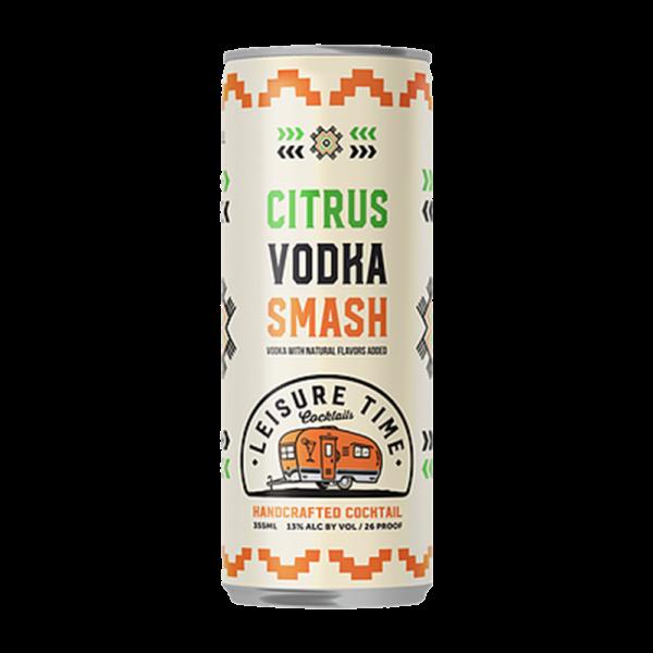 Leisure Time Citrus Vodka Smash 350ml Can