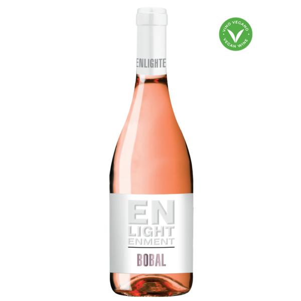 Enlightenment Bobal Rose Organic Vegan Spanish Wine 750ml Bottle Nashville Tennesee